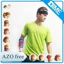 2015 factory sealed multifuctional custom logo tubular bandanas