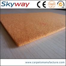 branded plain car exhibition carpet