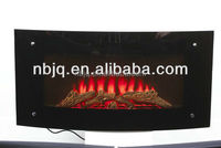 Luxury decor flame electric fireplace indoor use