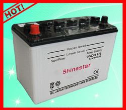 12v 80AH Car Parts Dry Cell Storage Battery