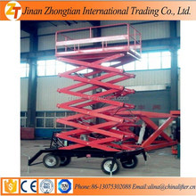 China wholesale market four wheel scissor lift platform with 4m-20m height