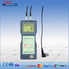 Digital Ultrasonic Thickness Meter Gauge Monitor Universal 1.2~200 mm Hard Materials Corrosion Tester