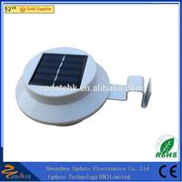 Portable Solar Powered Smart LED Solar Gutter Night Utility Security Light as Emergency Light