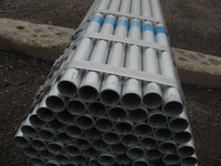 GI pipe manufacturer supply 3'' schedule 40 ASTM A53 round hot dipped galvanized steel pipe/tube factory price in china