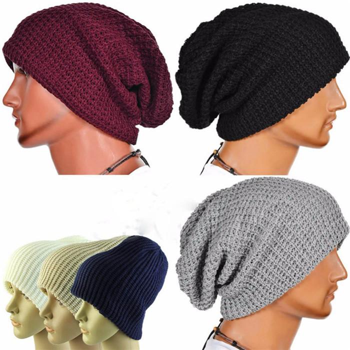 Invierno Casual algodón sombreros de punto para los hombres y las ...
