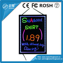 2014 Alibaba Express/ Hot Sale New/Led Sign Board/Led Writing Board/Advertising/Aliexpress