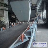 Rubber conveyor belt for fixed belt conveyor
