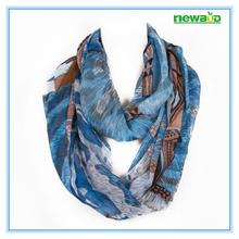 Hot selling custom brand printed fashion neck warmer