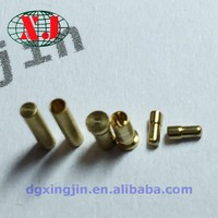 gold connector pins. spring loaded battery charging contacts,battery pogo pin
