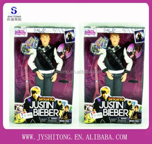 11.5 inch Plastic Handsome Man Doll 2015 Justin Bieber Action Figure Doll