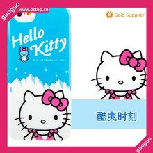 Factory price Hello Kitty brand for Iphone 6 plus PC back case
