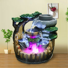 fountain led new design polyresin arts and crafts gift, home /office decorative lover