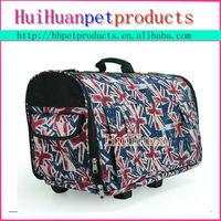 Airline pet dog travel dog carrier dog bag with wheels