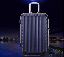 Fashion Design and Colorful Four Wheels 100% PC Trolley Luggage