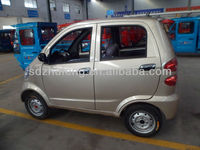 4 wheels electric car with right hand wheel