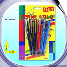 Personalize colored ink pen,gel colored pens 783253