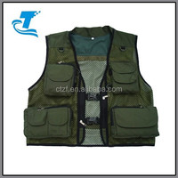 2015 Hot Sale Men's Outdoor Multi-Pocketed Fly Fishing Vest