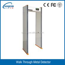6 detection zones Walk Through Security Scanners, walk through metal detector top seller