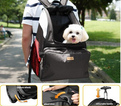 Pet dogs and cats Trolley Backpack Trolley Dogs Trolley backpack dog bag