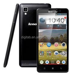 "Original phone 5"" Lenovo P780 MTK6589 Quad Core 1.2GHz 1GB RAM 4GB ROM WCDMA mobile phone"
