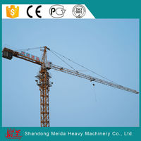 easy to operate QTZ63(5013) top slewing Tower Crane for sale