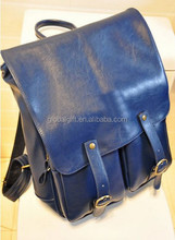 Fashion Womens PU Leather Tote School Backpack