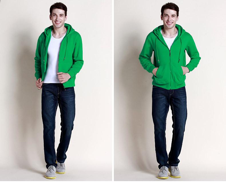 Zip Hooded Sweatshirts Wholesale 75