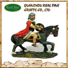 custom resin roman toy soldier statues