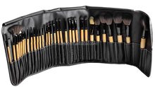 2013 best seller china supplier synthetic hair 32 pcs professional makeup brushes set 32