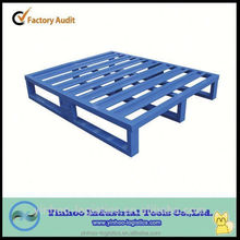 high quality storage heavy duty stacking galvanized steel pallet China alibaba