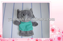 fast shipping! kids animal hand puppet for adult factory