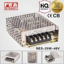 Power supply LED driver NES-25 48V 25W 0.5a switching power supply with CE