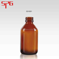 China wholesale market agents amber glass bottles for syrup 100ml pharmaceutical glass bottles