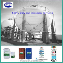 SWD one component moisture cure polyurethane industrial floor anticorrosion waterproof coating