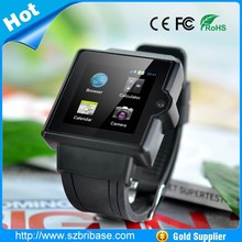 High quality Android system Bluetooth 3G wifi Watch Phone with camera