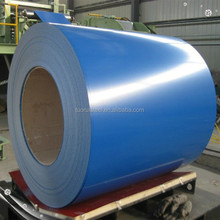 ocean blue prepainted aluzinc corrugated metal sheet