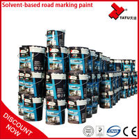 Highly Reflective Cold Solvent Road Marking Spray Paint