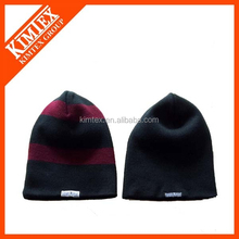 Winter knit custom cheap men beanie cap