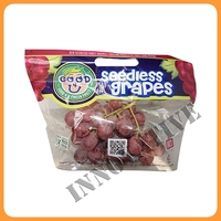 type of laminated material bag for fresh fruit packaging
