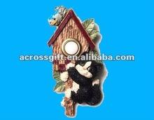 Antique decoration resin birdhouse
