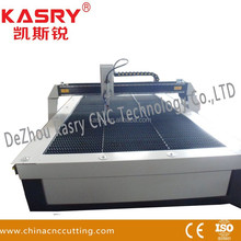 Table type cnc flame/ plasma cutting machines price with THC