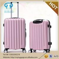 2015 newly designed fashion single trolley luggage/pc trolley case/travel luggage bag