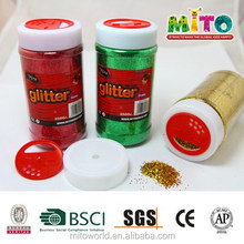 MTJF-250G 250g non toxic metal flake glitter for child diy