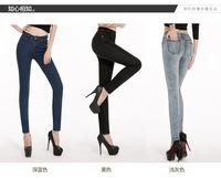 Women's jeans Slim pencil pants feet pants female was thin 2019
