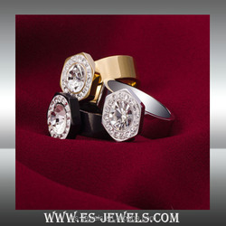 gemstone lover ring jewellery factory manufacturer