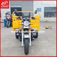 nwe air-cooled large cargo 3-wheeler tuk tuk/ three wheel motorcycle/cargo tricycle made in guangzhou china
