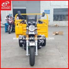 nwe air-cooled large cargo 3-wheeler tuk tuk/ three wheel motorcycle/cargo tricycle made in guangzhou china