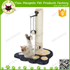 cat pet scratching sisal post with toys newest scratcher cat tree direct from china