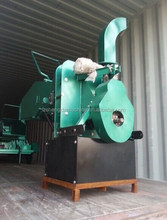 PTO Wood chipper wood branch crusher with Hydraulic feed system