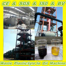 Higher oil quality of superior quality waste PP recycling machine to furnace OIL
